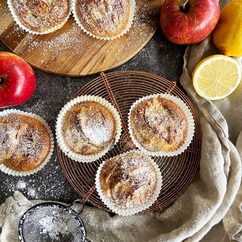 Foto av Äppelmuffins med mandel från WW ViktVäktarna