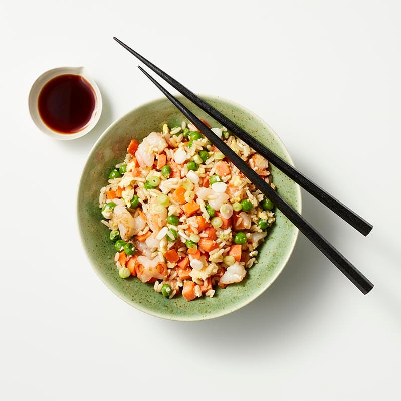 Foto av Fried rice med räkor från WW ViktVäktarna
