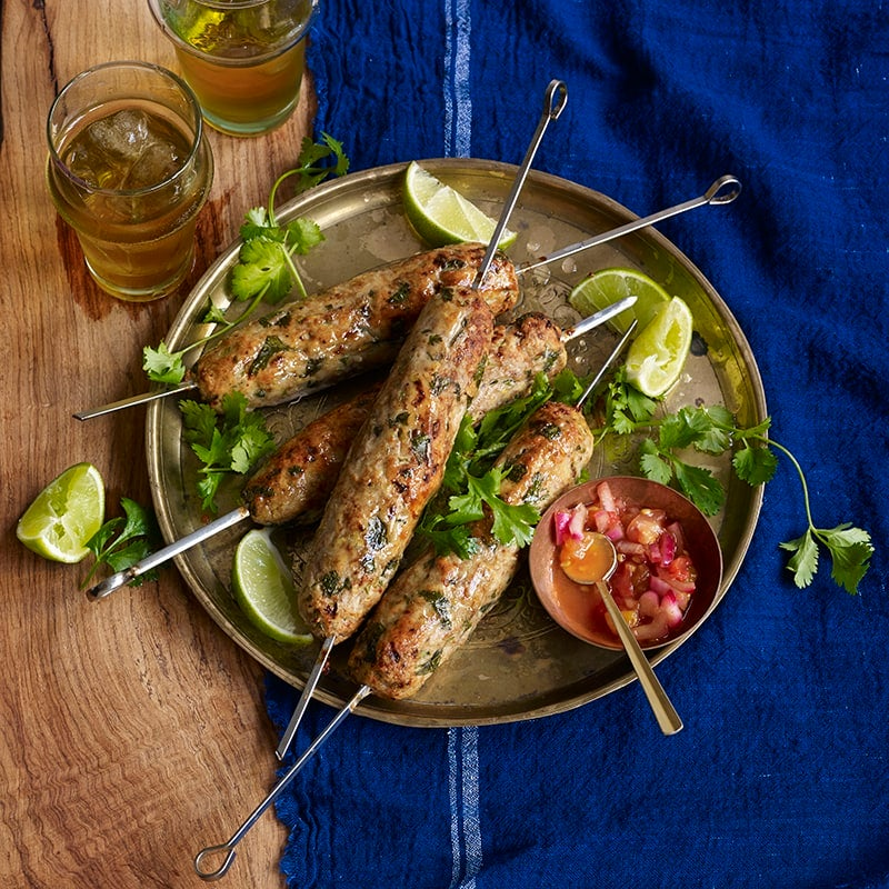 Foto av Grillad kalkonkebab från WW ViktVäktarna
