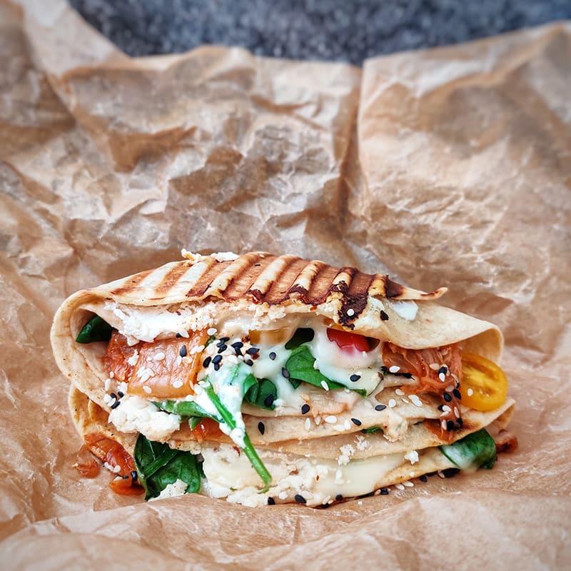 Foto av Grillad wrap med grönsaker och kimchi från WW ViktVäktarna