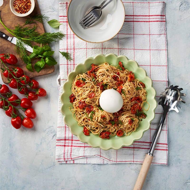 Foto av Pasta med tomat och burrata från WW ViktVäktarna