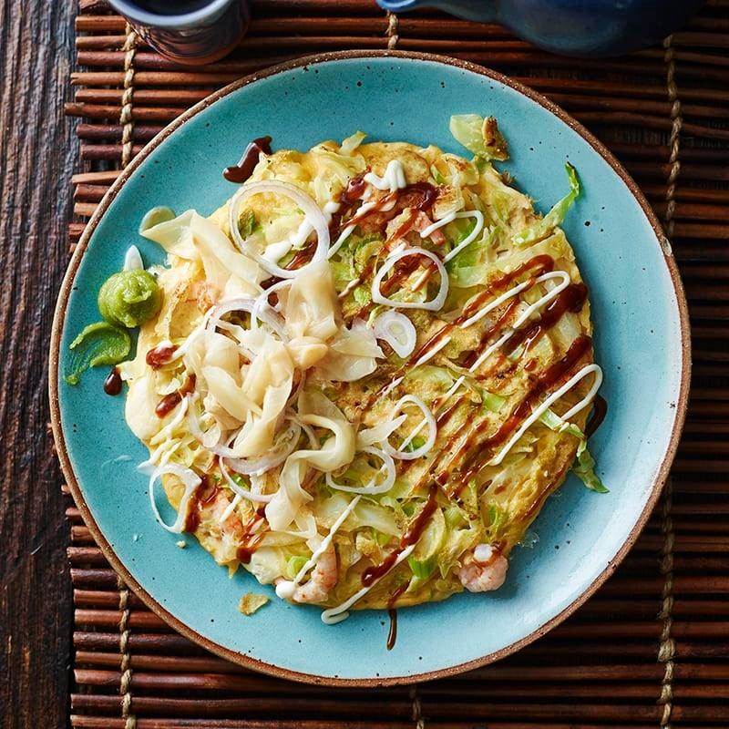 Foto av Okonomiyaki med räkor från WW ViktVäktarna