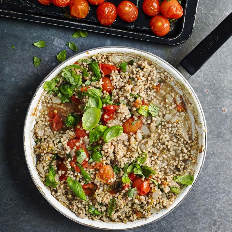 Foto av Boveteotto med ugnsbakade tomater från WW ViktVäktarna