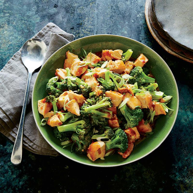 Foto av Sötstark kyckling- och broccoliwok från WW ViktVäktarna