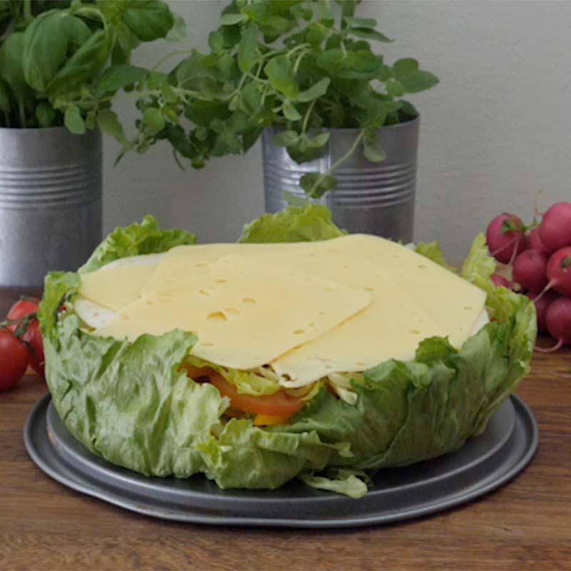 Foto av Smörgåstårta med tortilla från WW ViktVäktarna