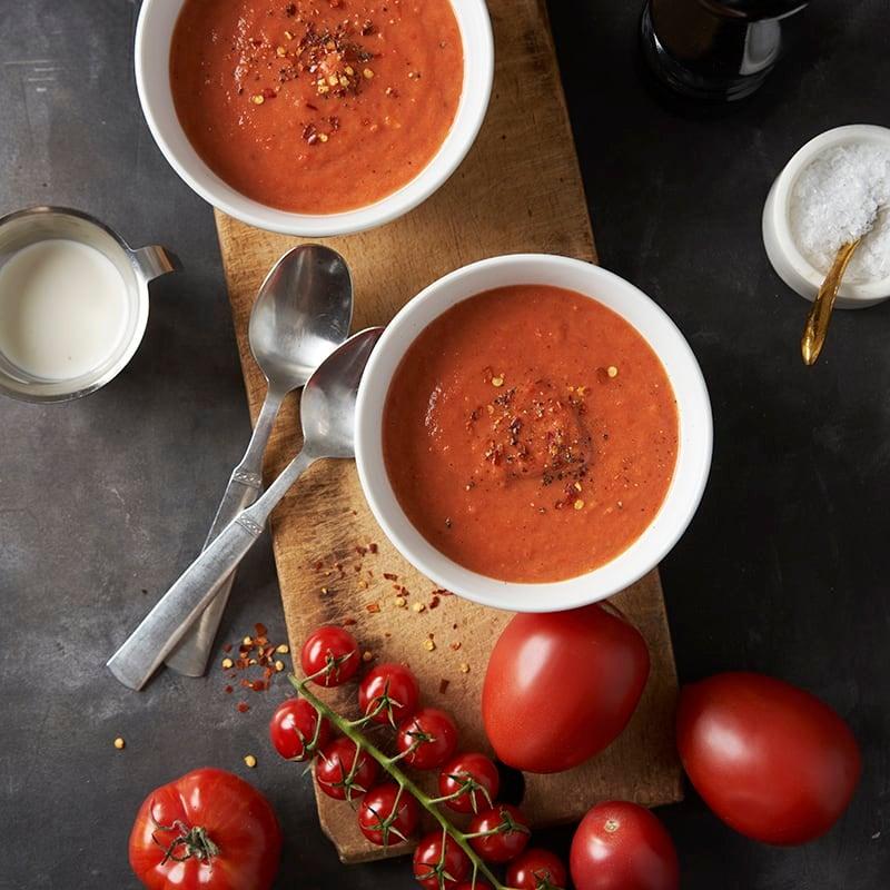 Foto av Ugnsrostad tomatsoppa från WW ViktVäktarna