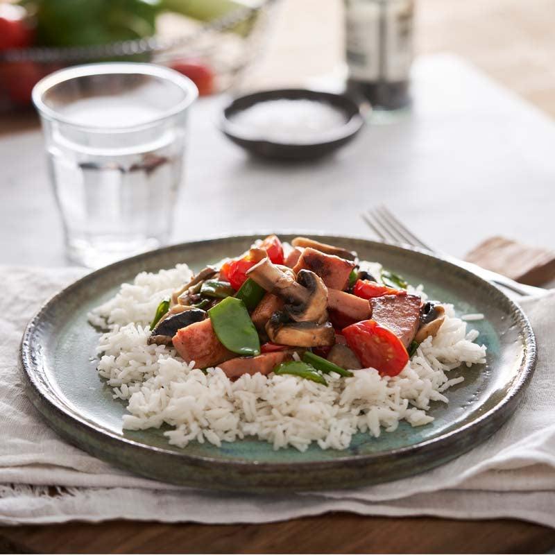 Foto av Korv- och grönsaksröra med ris från WW ViktVäktarna