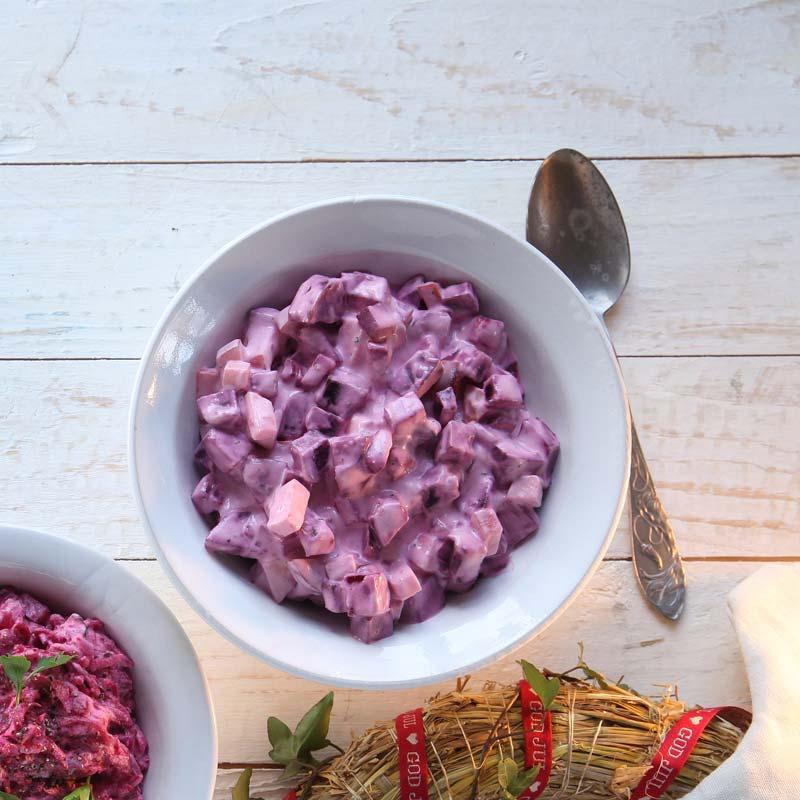 Foto av Rödbetssallad med yoghurtdressing från WW ViktVäktarna