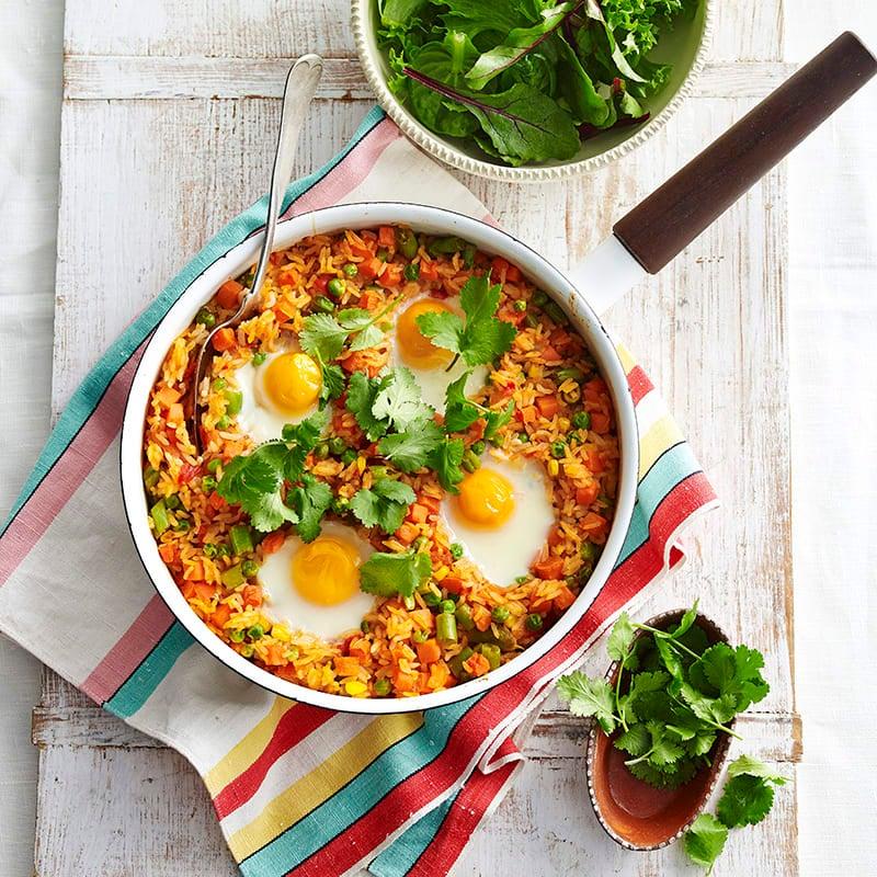 Foto av Ugnsbakat ris med ägg från WW ViktVäktarna