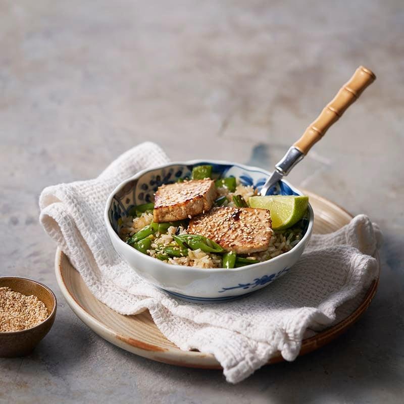 Foto av Fried rice med hoisinglaserad tofu från WW ViktVäktarna