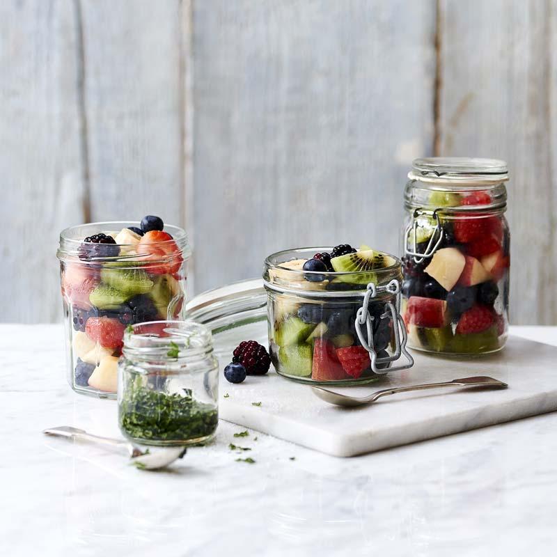 Foto av Fruktsallad med vanilj- och myntadressing från WW ViktVäktarna