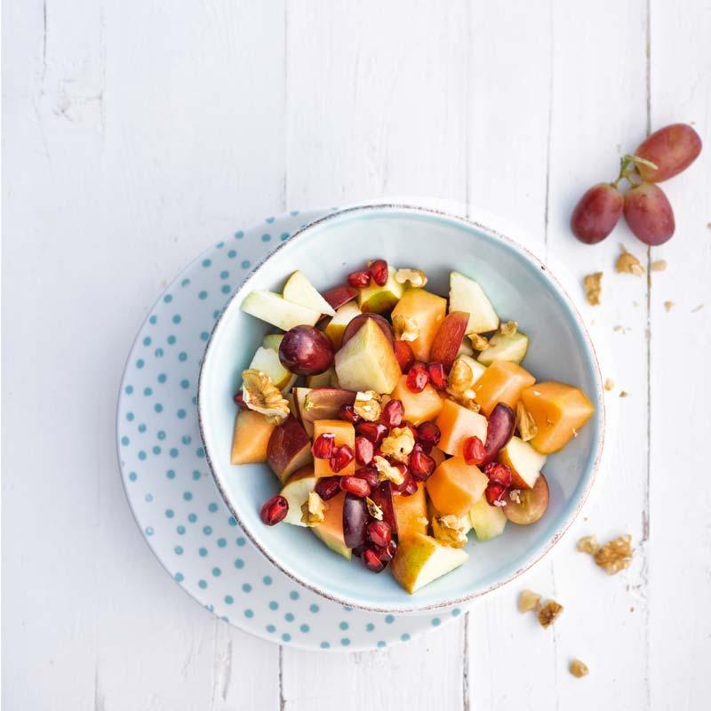 Foto av Fruktsallad med valnötter från WW ViktVäktarna
