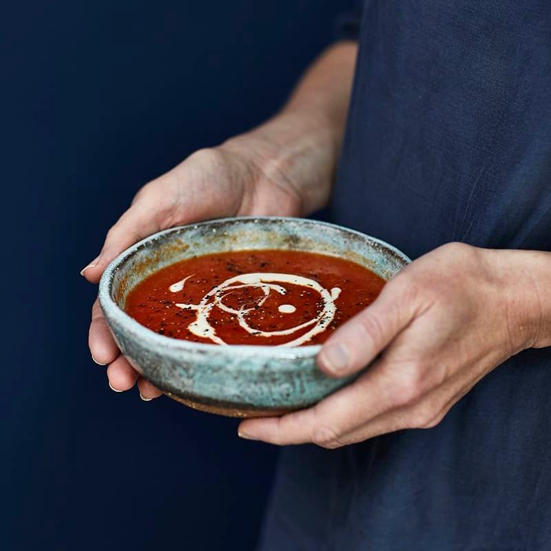 Foto av Tomatsoppa med kikärtor från WW ViktVäktarna