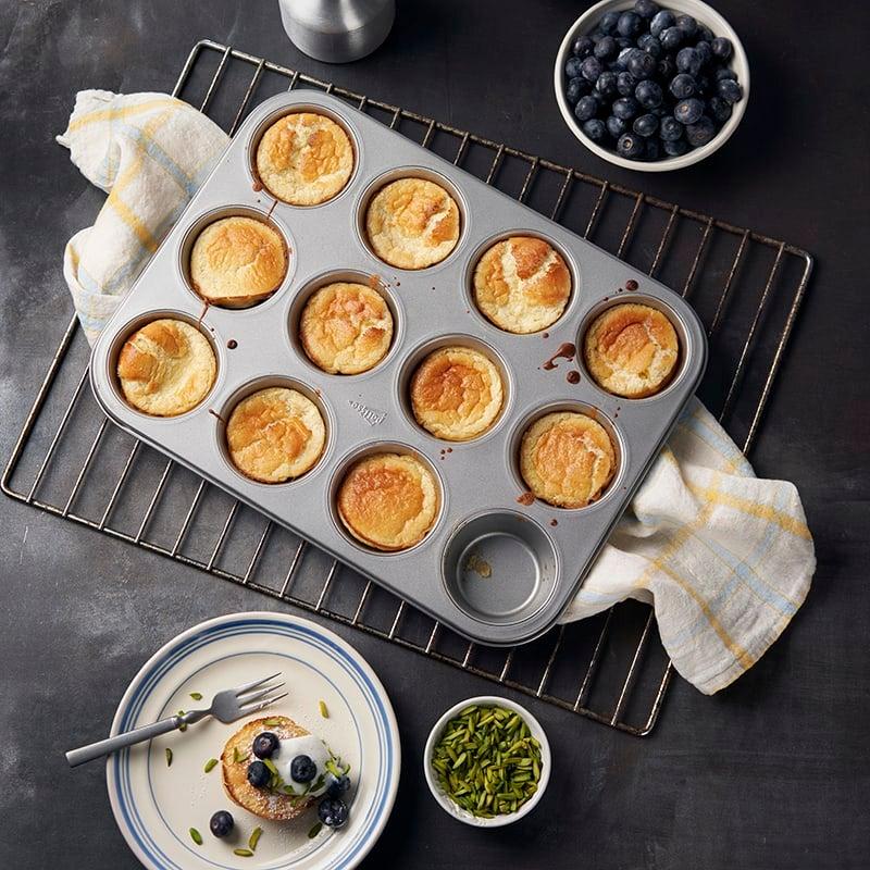 Foto av Dutch pancakes med vaniljyoghurt och blåbär från WW ViktVäktarna