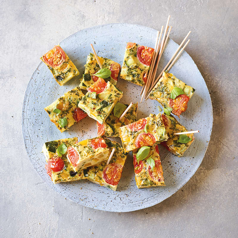 Foto av Minifrittata med grönsaker och parmesan från WW ViktVäktarna