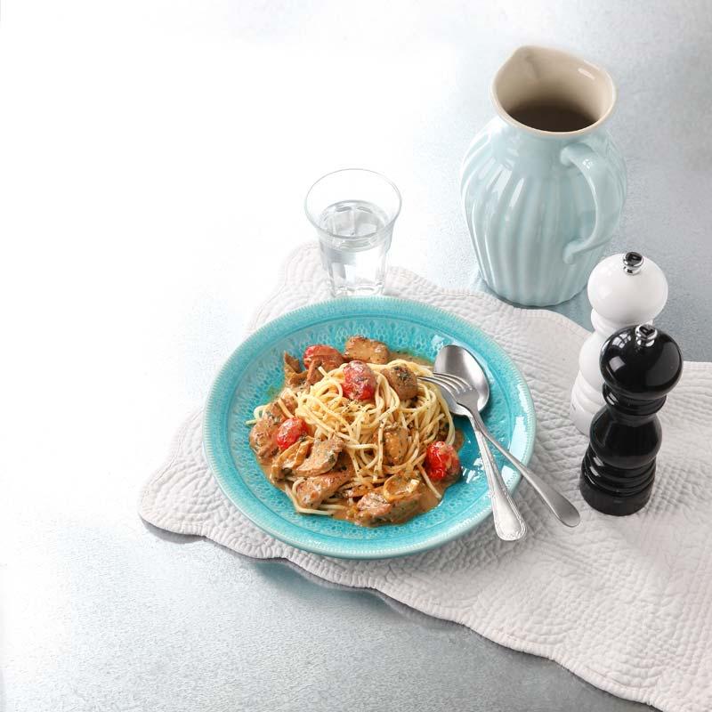 Foto av Pasta med fläskytterfilé och tomat från WW ViktVäktarna