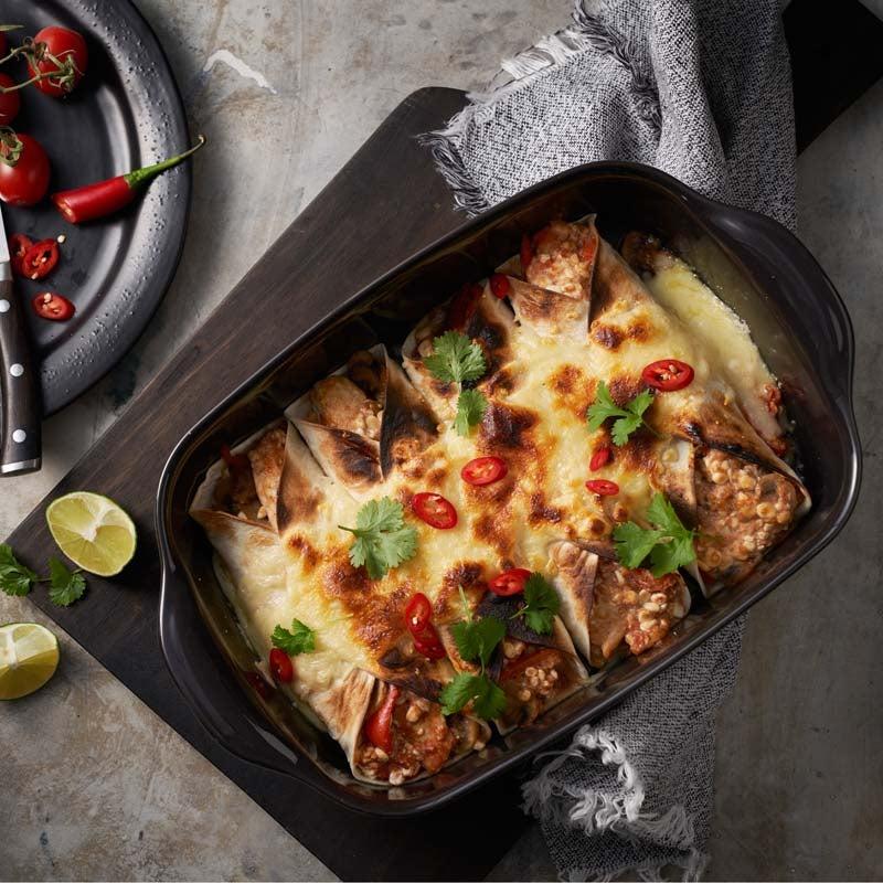 Foto av Tortilla med kycklingfyllning från WW ViktVäktarna