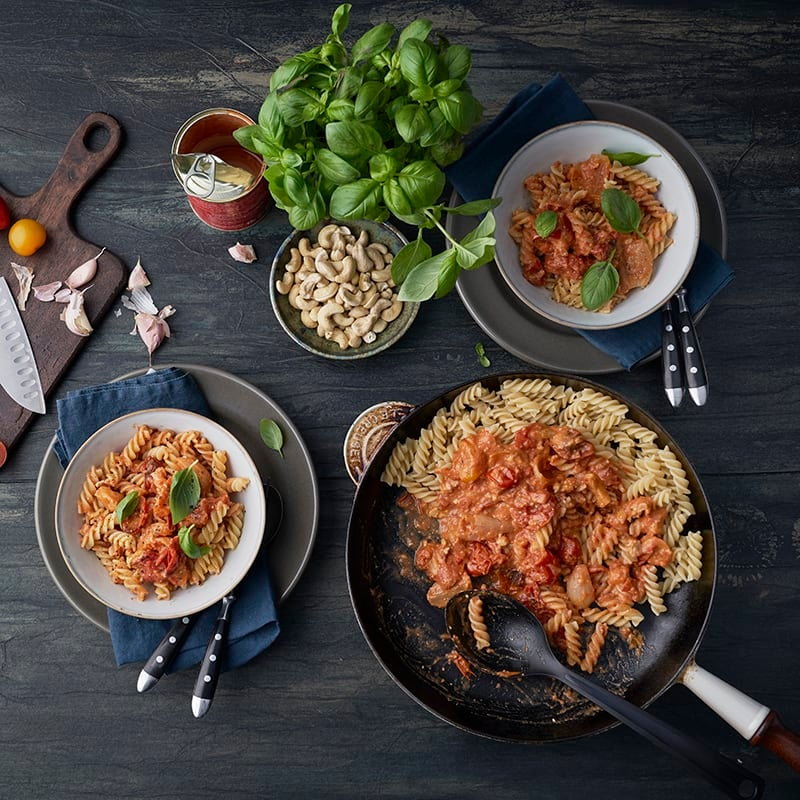 Foto av Pasta med rostad tomat- och cashewsås från WW ViktVäktarna