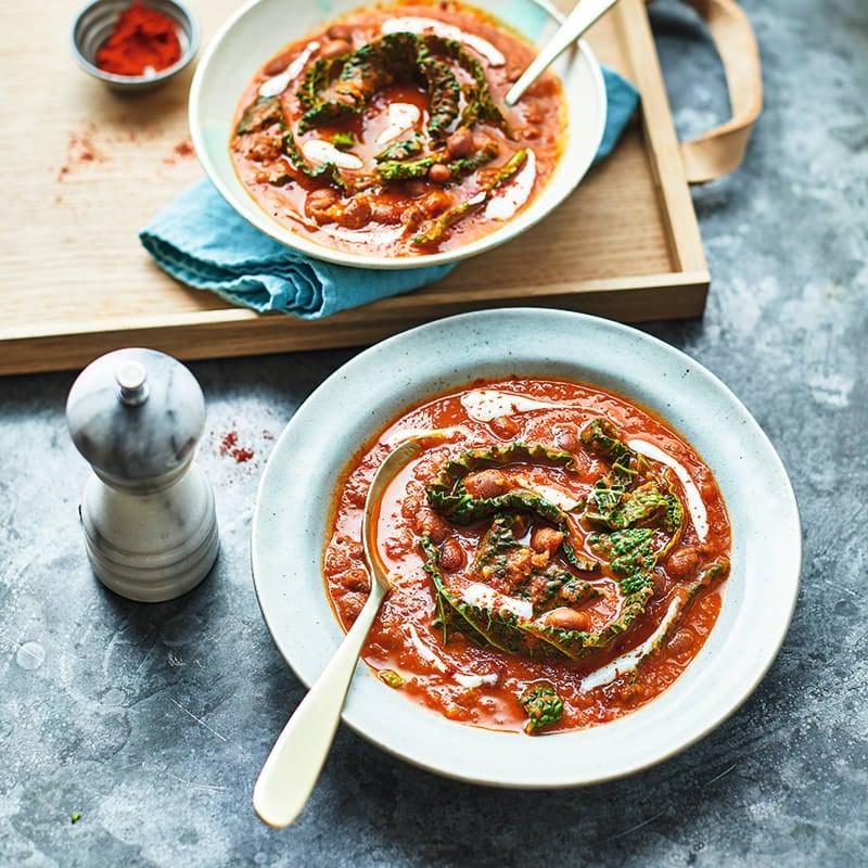 Foto av Rökig tomat- och bönsoppa från WW ViktVäktarna