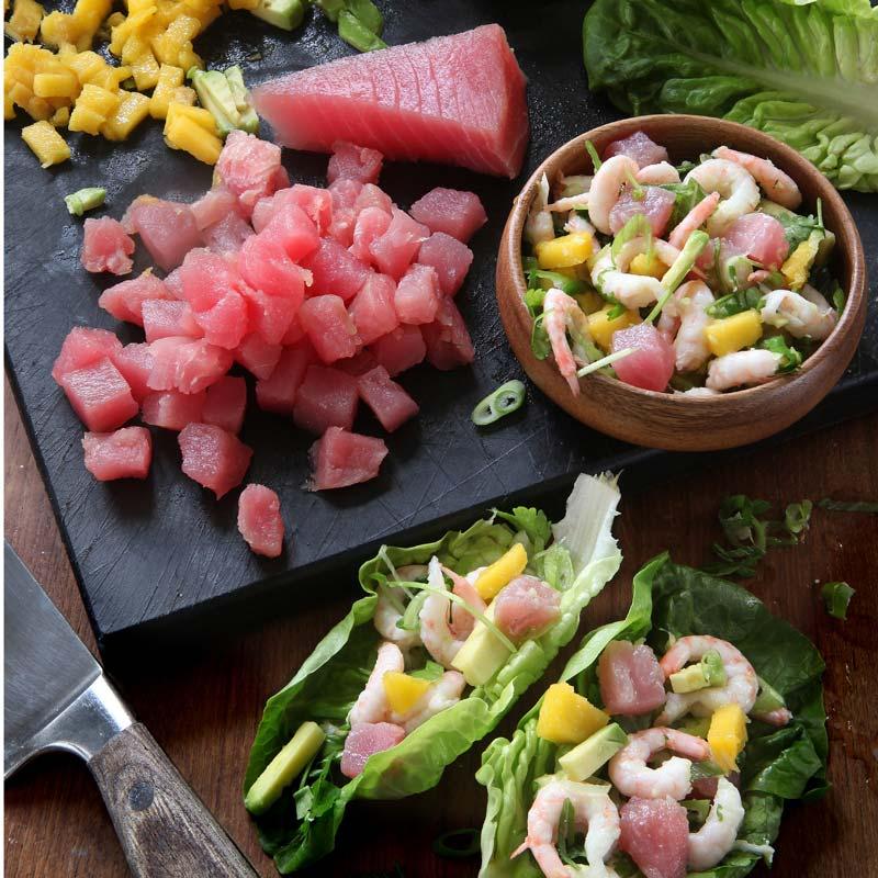 Foto av Asiatisk ceviche från WW ViktVäktarna
