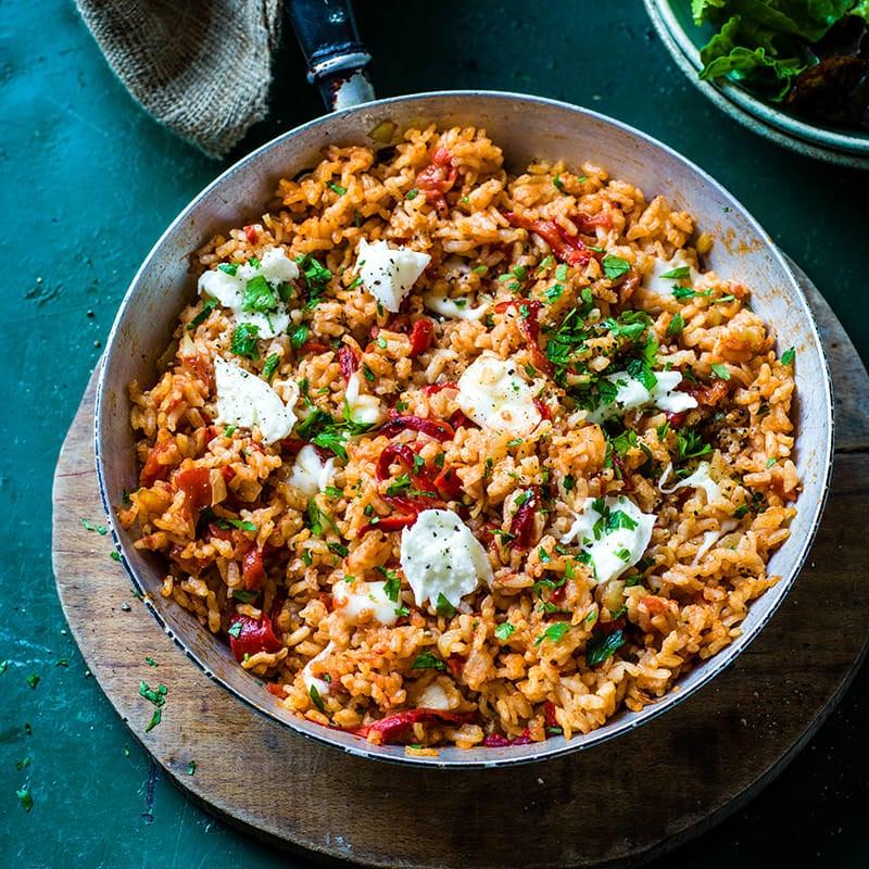 Foto av Ugnsbakat ris med paprika från WW ViktVäktarna