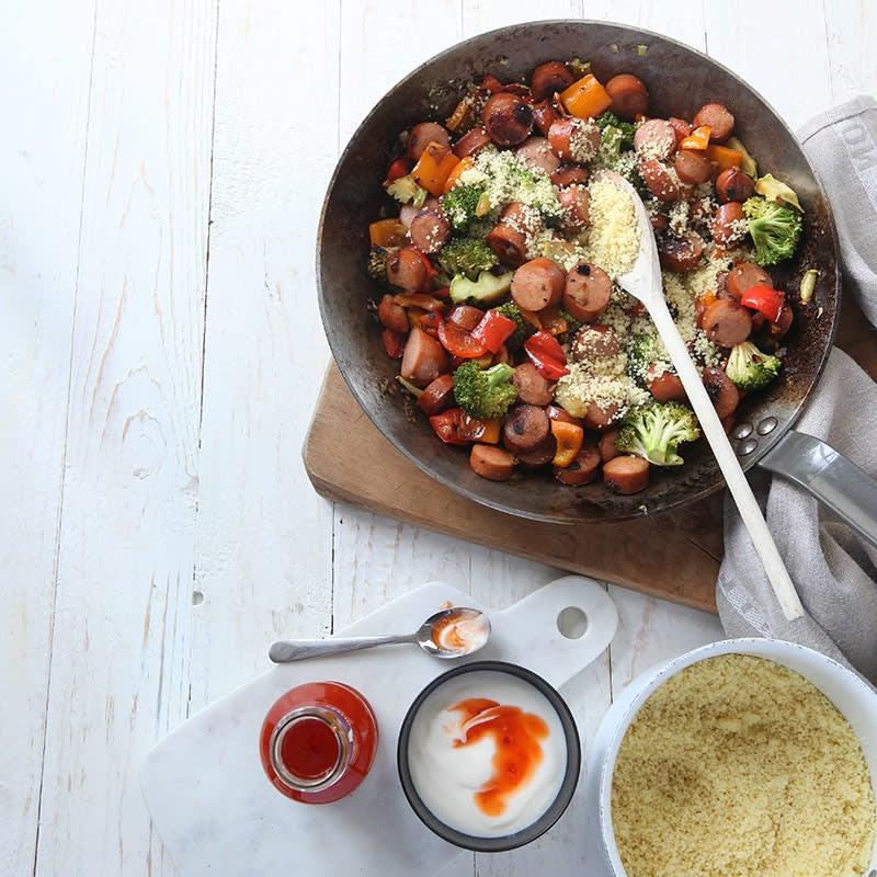 Foto av Chorizo- och couscouspytt från WW ViktVäktarna