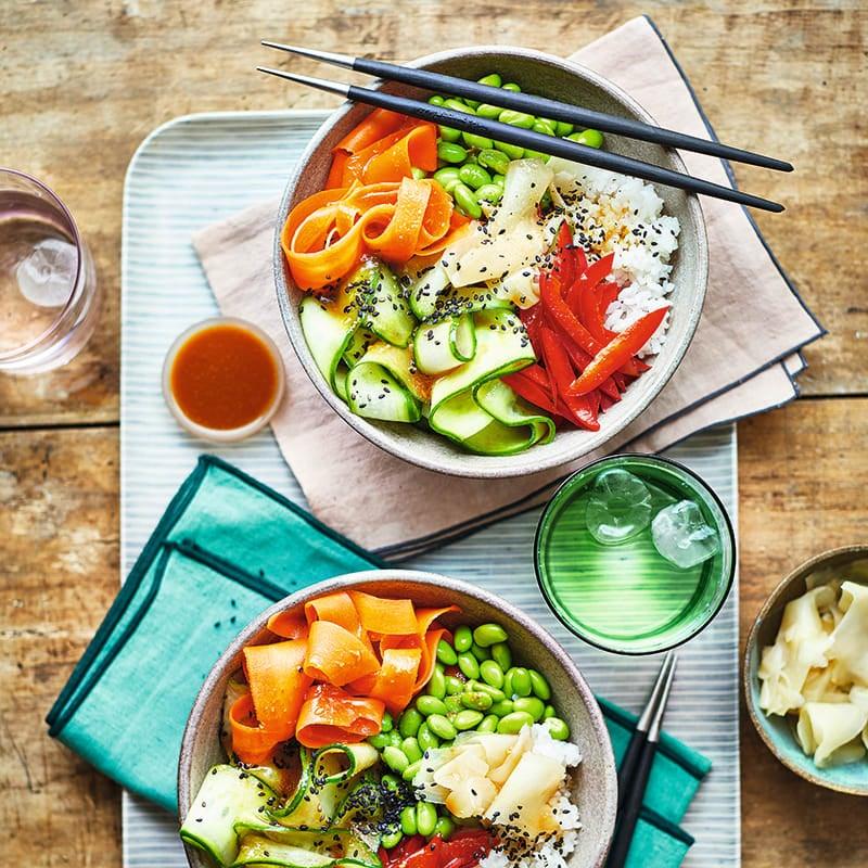 Foto av Vegetarisk sushibowl från WW ViktVäktarna