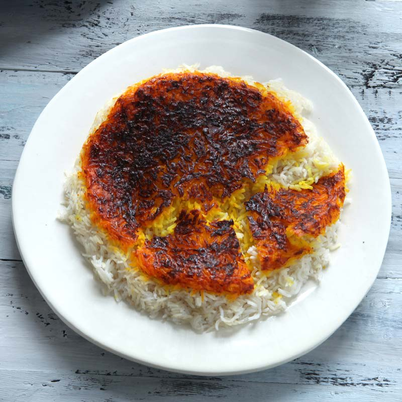 Foto av Persiskt ris med saffran och yoghurtskorpa från WW ViktVäktarna