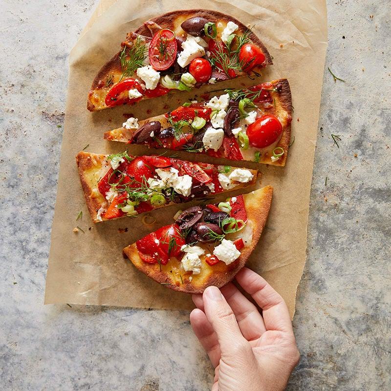Foto av Grekisk naanbrödspizza från WW ViktVäktarna