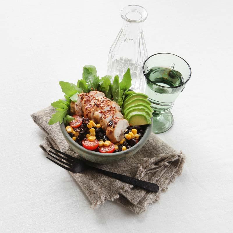 Foto av Kyckling med avokado- och bönsallad från WW ViktVäktarna