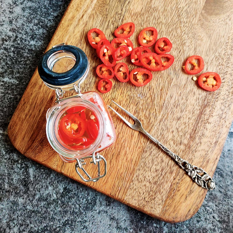 Foto av Picklad chili från WW ViktVäktarna