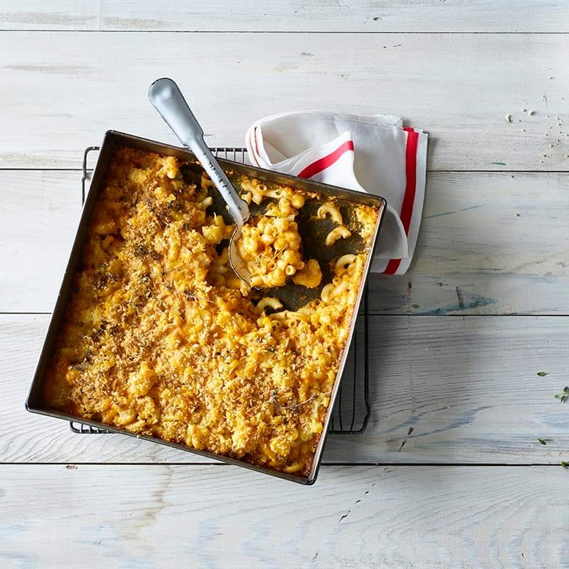 Foto av Mac & cheese med krämig butternutsås från WW ViktVäktarna