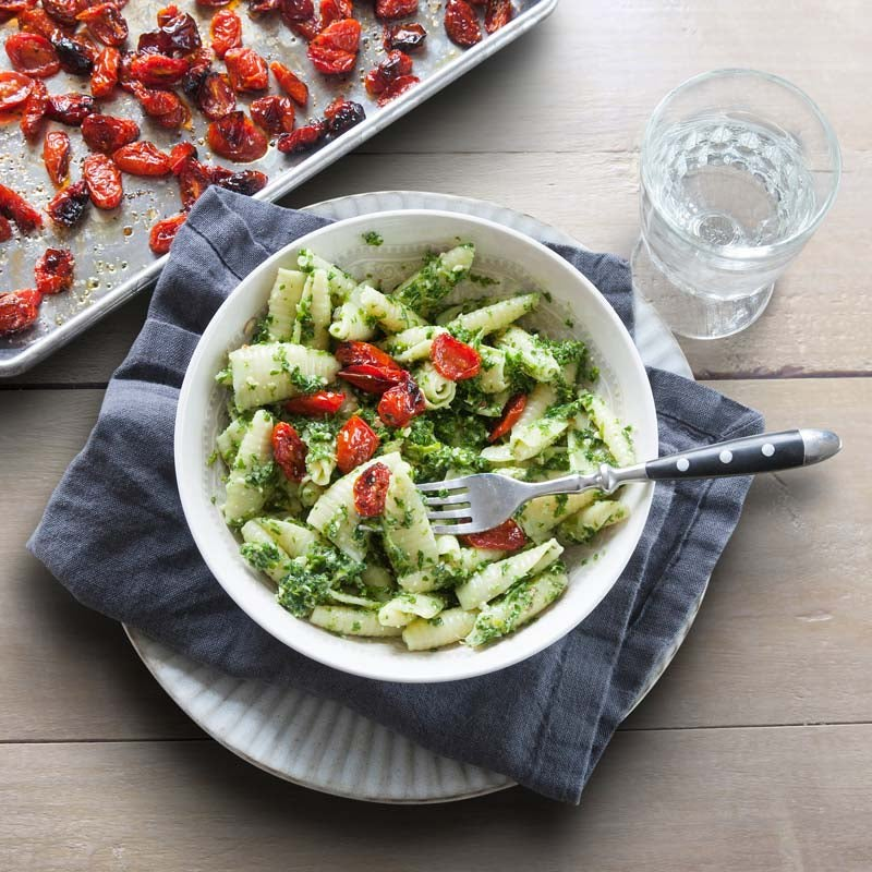 Foto av Pasta med grönkåls- och mandelpesto från WW ViktVäktarna