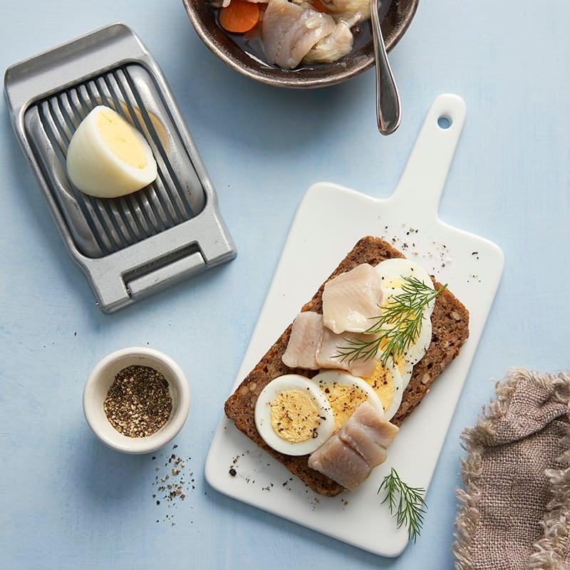 Foto av Rågbröd med ägg och sill från WW ViktVäktarna