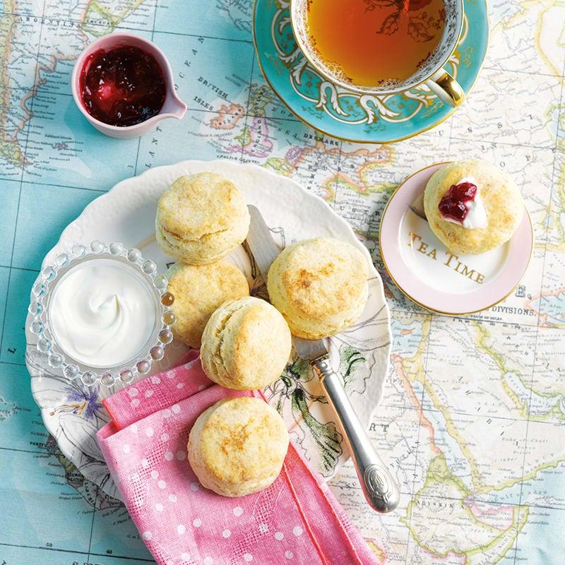 Foto av Engelska scones med ostkräm och sylt från WW ViktVäktarna