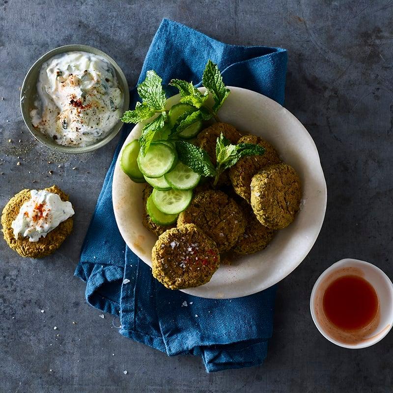 Foto av Ugnsbakad falafel med gurksås från WW ViktVäktarna