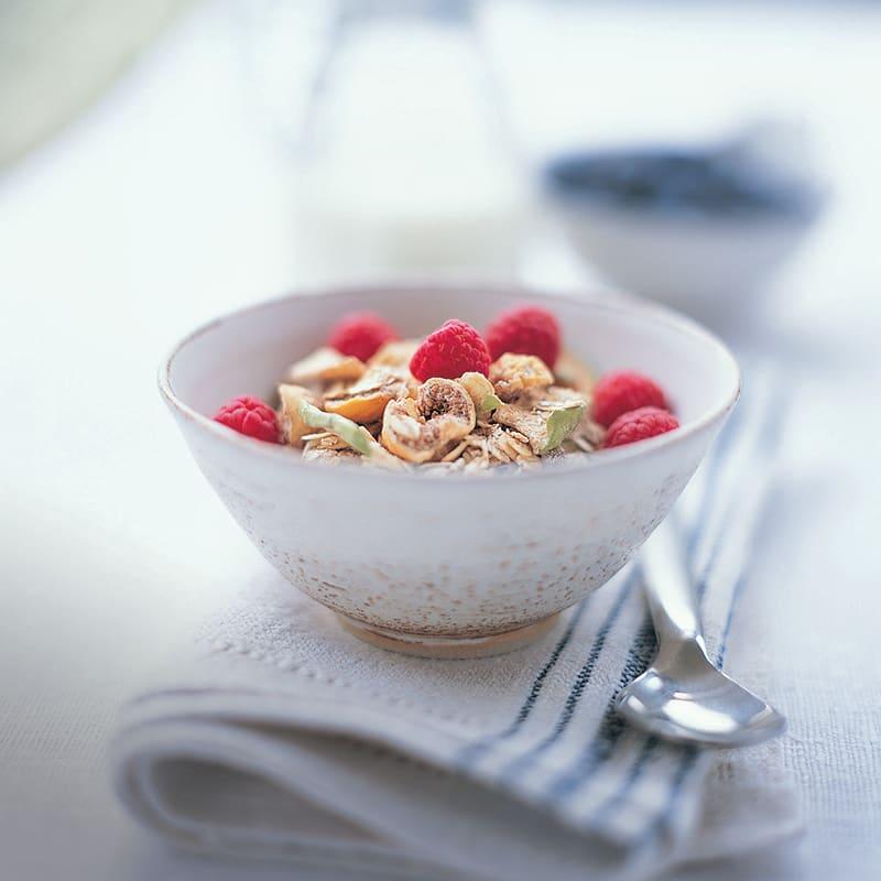 Foto av Yoghurt med hallon och müsli från WW ViktVäktarna