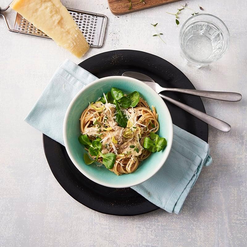 Foto av Spaghetti med fläskfilé- och parmesansås från WW ViktVäktarna