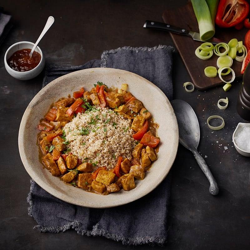 Foto av Curry- och ingefärsdoftande köttpanna från WW ViktVäktarna