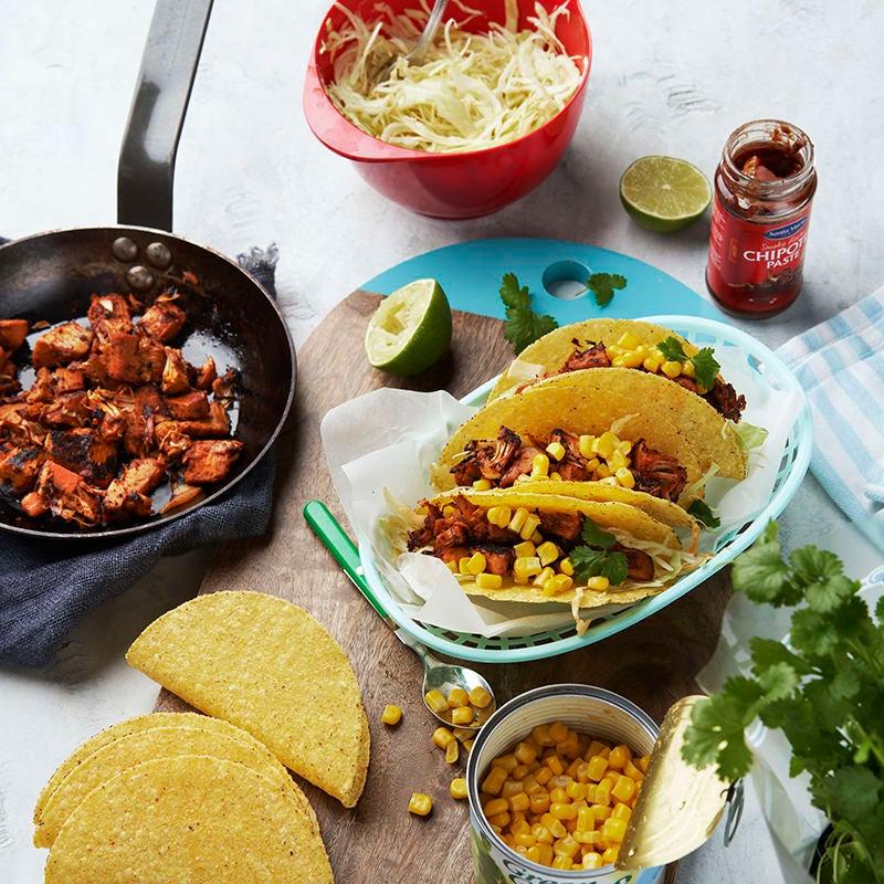 Foto av Tacos med chipotlejackfruit från WW ViktVäktarna