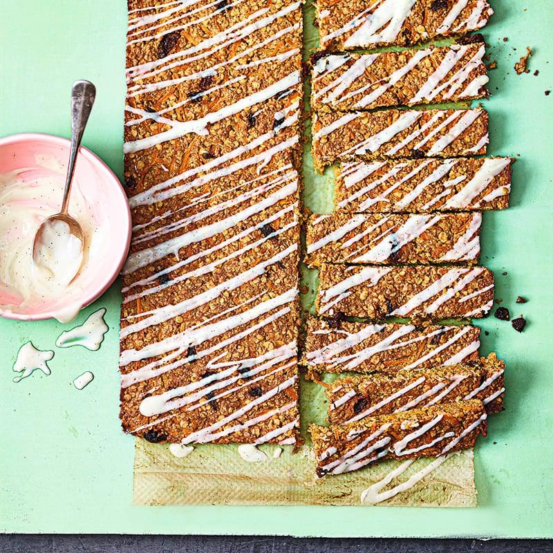 Foto av Flapjacks med smak av morotskaka från WW ViktVäktarna
