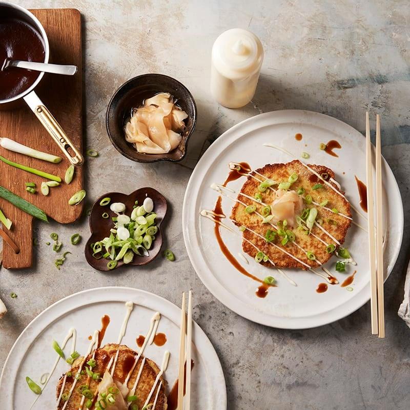 Foto av Okonomiyaki (Japanska pannkakor) från WW ViktVäktarna