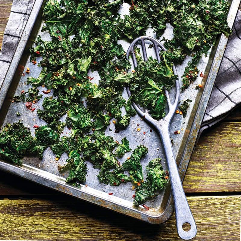Foto av Grönkålschips med chili från WW ViktVäktarna
