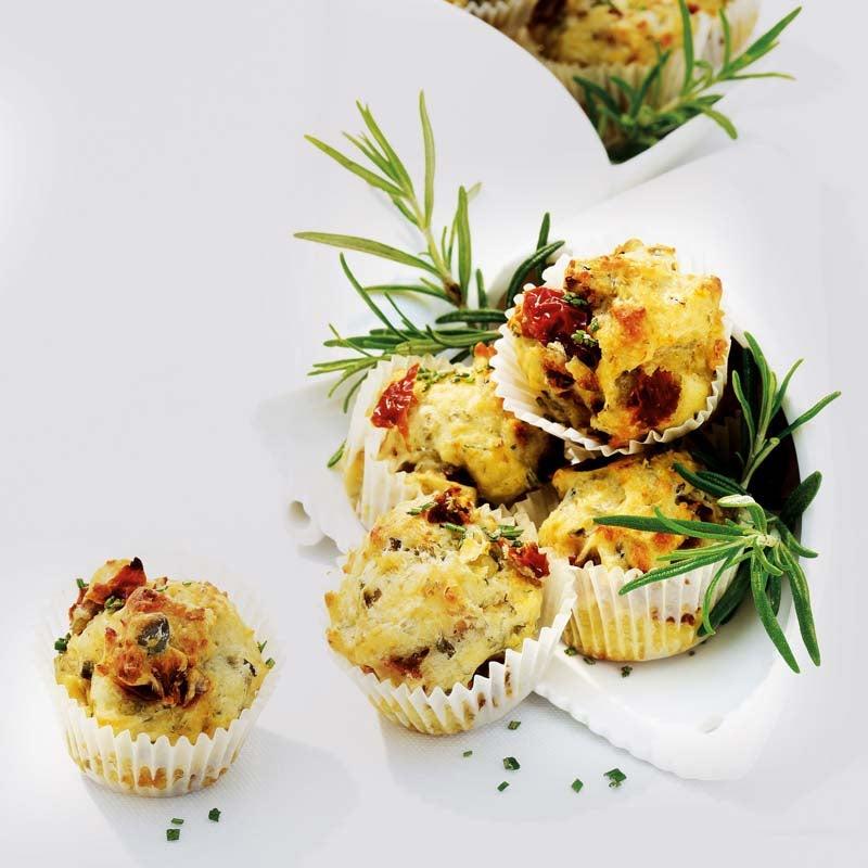 Foto av Minimuffins med soltorkade tomater och parmesan från WW ViktVäktarna