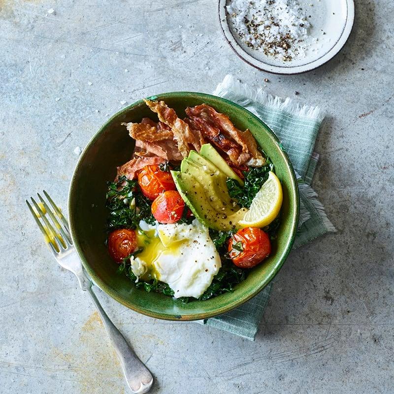 Foto av Frukostbowl med grönkål, avokado och pocherat ägg från WW ViktVäktarna