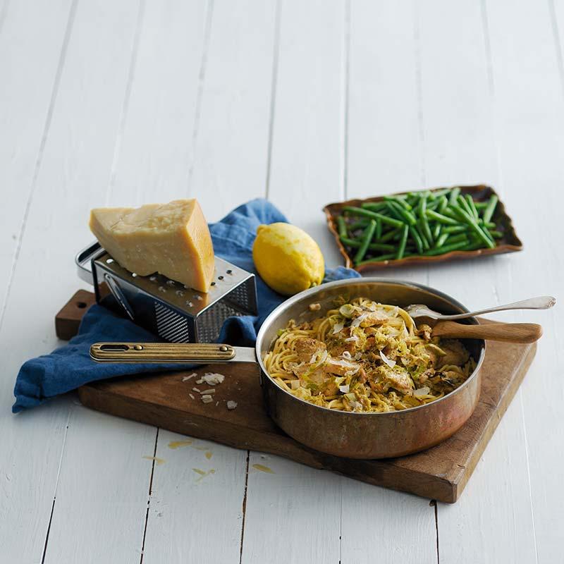 Foto av Citronkyckling med parmesanspaghetti från WW ViktVäktarna
