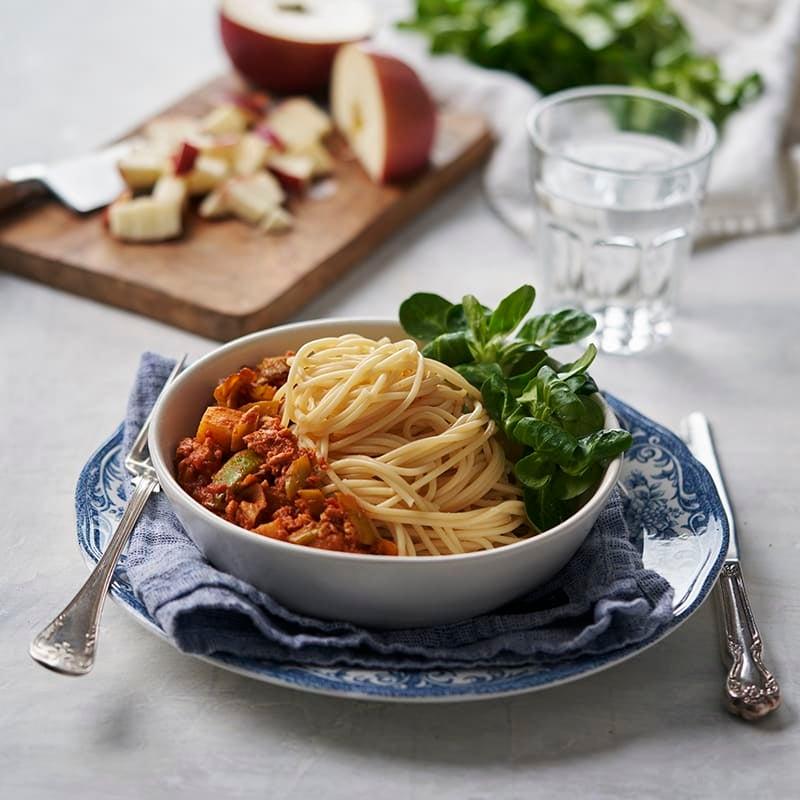 Foto av Curryköttfärssås med äppeltärningar från WW ViktVäktarna