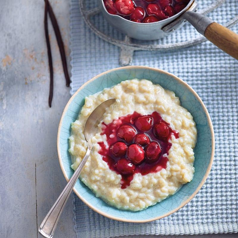 Foto av Risgrynsgröt med vanilj och körsbärssås från WW ViktVäktarna