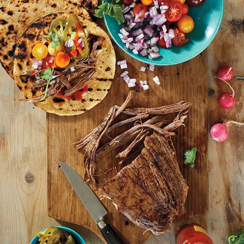 Foto av Tacos med pulled beef från WW ViktVäktarna