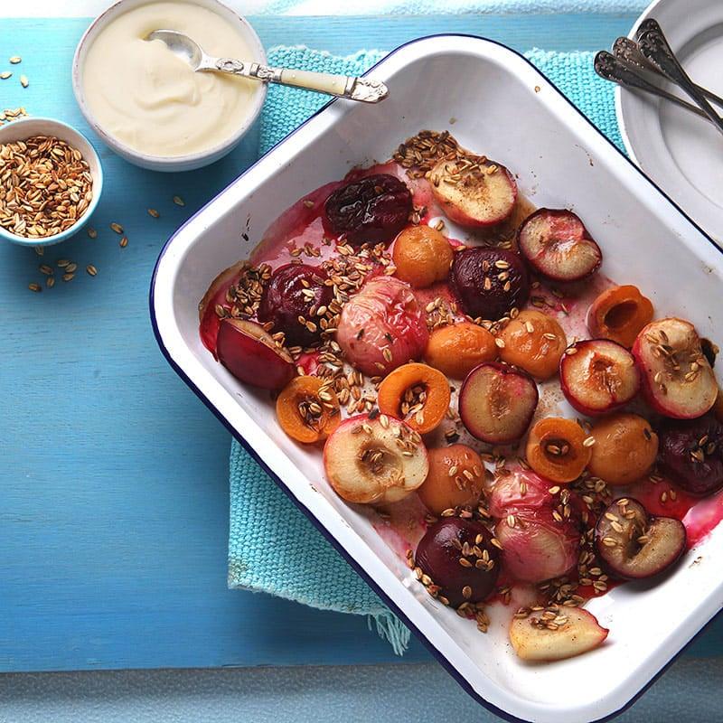 Foto av Ugnsbakade frukter med kryddig sirap från WW ViktVäktarna